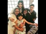 Aishwarya Rai Bachchan Shares Pic With Jaya Amitabh Bachchan Rubbishes Family Fight Rumours