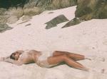 Mandana Karimi Sets Temperatures Soaring Mandana Poses Topless On Beach Hotness Alert