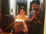 Rubina Dilaik Abhinav Shukla Are Back In Mumbai Rubina Gets Best Surprise