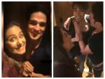 Bigg Boss 11 Bffs Hina Khan Luv Tyagi Priyank Sharma Reunite Share Fun Moments Pics Videos