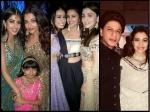 Inside Pic From Ambani Engagement Ceremony Aishwarya Rai Bonds With Navya Shahrukh Khan Kajol Selfie