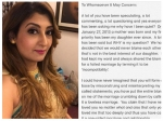 Juhi Parmar Hits Back At Ex Husband Sachin Shroff Says Half The Truth Is Actually As Good As A Lie