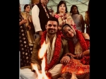Mithun Chakroborty Son Mahaakshay Chakroborty Marries Madalsa Sharma First Wedding Picture Out