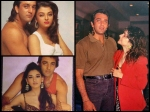 Sanjay Dutt Birthday Special His Rare Pictures With Sridevi Aishwarya Rai Bachchan Others
