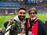 Fifa World Cup 2018 Amitabh Abhishek Shweta Bachchan Witness France Victory See Picture