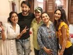 Kuch Rang Pyar Ke Aise Bhi Erica Shaheer Reunite At Supriya Pilgaonkar Birthday Party Pics