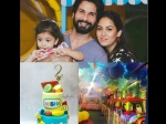Misha 2nd Birthday Pics Shahid Kapoor Mira Rajput Throw A Frooty Birthday Party
