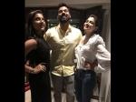 Shabbir Ahluwalia Birthday Here How Real Reel Wives Kanchi Kaul Sriti Jha Wished The Actor Pics