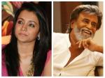 Trisha Work With Superstar Rajinikanth The First Time