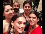 Tamannaah Samantha Amala Aditi Rao Hydari Bond At Party Inside Photos