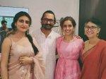 Aamir Khan Kiran Rao Celebrate Eid With Dangal Girls Fatima Sana Shaikh Sanya Malhotra