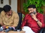 Mohanlal The Actor Prithviraj The Director At The Sets Lucifer
