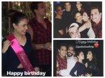 Yuvika Choudhary Celebrates Birthday With Fiance Prince Narula Suyyash Kishwer Mandana Others Pics