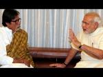 Amitabh Praises Narendra Modi Swachhata Hi Seva Movemet