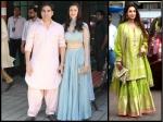 Arbaaz Khan Spotted With Girlfriend Giorgia Andriani Malaika Arora At Arpita Khan Ganapati Darshan
