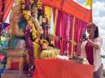 Ganesha Chaturthi 2018 Raai Laxmi Others Celebrate The Festival