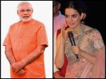 Kangana Ranaut Wishes Pm Narendra Modi The Warmest Way Watch Video