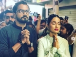 Hina Khan Seeks Ganpatis Blessings With Rocky Jaiswal Gets Trolled For Visiting Lalbaughcha Raja