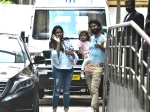 Shahid Kapoor Mira Rajput Spotted With Son Zain Kapoor First Pictures