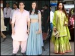 Arbaaz Khan Spotted With Girlfriend Giorgia Andriani Malaika Arora At Arpita Khan Ganapati Darshan