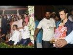 Arpita Khan And Aayush Sharma Bid Adieu To Ganpati Bappa Pictures