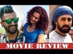 Manmarziyaan Review And Rating Abhishek Bachchan Taapsee Pannu Vicky Kaushal
