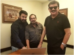 Mohanlal Priyadarshan Sabu Cyril Launch The Facebook Page Of This Director S Upcoming Movie