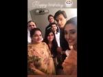 Yeh Rishta Kya Kehlata Hai Mohsin Khan Celebrate Birthday With Shivangi Joshi Yrkkh Team Family Pics
