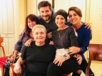 Sonali Bendre Priyanka Chopra Are All Laughter And Smiles With Rishi And Neetu Kapoor In New York