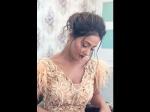 Star Parivaar Awards 2018 Komolika To Be Revealed Hina Khan Rehearses Looks Stunning In Golden Dress