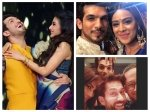 Arjun Bijlani Gets Adorable Surprise From His Son Wife Mouni Roy Nia Sharma Others Wish Him Pics