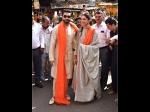 Deepika Padukone Ranveer Singh Spotted Seeking Blessings At Siddhivinayak Temple New Pictures