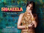 Shakeela First Look Poster Richa Chadha Glitters In Gold