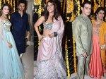 Television Celebrities Divyanka Vivek Anita Anusha Others Grace Ekta Kapoor Diwali Party Inside Pics