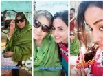 Hina Khan Begins Shooting For Bollywood Film Shares Pic With Farida Jalal Calls Her Lady James Bond