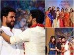 Tovino Thomas Keerthy Suresh Madonna Sebastian Others At Vishnu G Raghav Meera Wedding