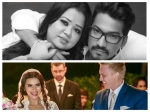 Bharti Singh Harsh Limbachiya Aashka Goradia Brent Goble Adorable Messages First Wedding Anniversary