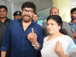 Telangana Elections 2018 Chiranjeevi Jr Ntr Others Cast Their Votes
