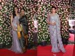 Kapil Sharma Ginni Chatrath Reception Rekha Kriti Sanon Raveena Tandon Others Grace The Occasion