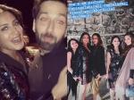 Surbhi Chandna Nakuul Mehta Goof Around Shqbaaz Sets Last Day Shoot They Have Tip For Nick Priyanka