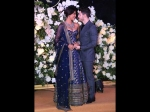 Priyanka Chopra Nick Jonas Red Carpet Pictures Mumbai Reception