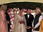 Pm Narendra Modi Graces Priyanka Chopra Nick Jonas Reception In Delhi See Pictures