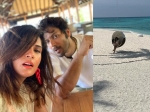 Birthday Girl Richa Chadha Holidays With Boyfriend Ali Fazal In Maldives Pictures