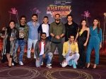 Vikas Gupta Bharti Singh Jasmin Bhasin Other Contestants At Khatron Ke Khiladi 9 Press Meet Pictures