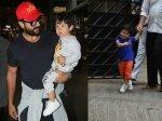 Pictures Taimur Saif Kareena Return To Mumbai After Holiday In South Africa