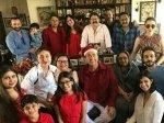 Inside Photos Kareena Saif Taimur Karishma Pose For Family Pictures Kapoors Christmas Brunch