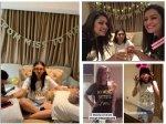 Drashti Dhami Anita Hassanandani Kritika Girls Have Blast Additi Gupta Mehndi Ceremony Full On Party