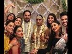 Additi Gupta Kabir Wedding Meet Bride Squad Drasti Krystle Others Additi Post Wedding Look Pics Vids