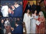 Aishwarya Rai Bachchan Caught Hugging Shweta Bachchan Ends Cold War At Deepika Ranveer Reception Pic