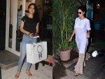 Katrina Kaif Spotted Indian Casual Look Fatima Sana Shaikh Snapped At Salon